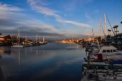 Coronado Springs Docks (dweible1109) Tags: scenic landscape boats magichour skyline skyscape sky cloudscape clouds sunset 18140mmnikkor d5600 nikon marina coronadosprings california