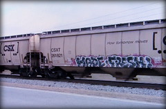(timetomakethepasta) Tags: mf made fresh freight train graffiti art csx csxt grainer hopper