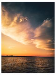 Chester - Western Shore, Nova Scotia - Canada_Web 1-Scaled (johann.kisaame) Tags: canada clouds impressionistic light luminance novascotia ocean orange shadows sky skyline sunlight artistic ethereal illumination painterly sunset water indianpoint ca topf25
