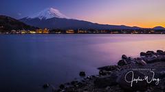 Lake Kawaguchi - View Point of Sakasa-Fuji (11) (ジェイリー) Tags: mountfuji lakekawaguchi 河口湖 kawaguchiko 富士五湖 山梨県 fujifivelakes japan 日本 landscape yamanashiprefecture 日出 a7r 戶外
