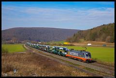 Hectorrail 242 517, Harrbach 07-02-2018 (Henk Zwoferink) Tags: harrbach07022018 hectorrail hc henkzwoferink siemens taurus 242 517karlstadtbayerngermanyde