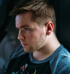 (Steven Sites) Tags: canon eos 5d mark iii sigma 50mm f14 man boy guy self portrait headshot blue eyes