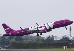 WOW Air A321-200 TF-PRO (birrlad) Tags: shannon snn international airport ireland aircraft aviation airplane airplanes airliner airline airlines airways takeoff departure departing climbing wow air storage lessor toulouse airbus a321 a321200 a321211 tfpro
