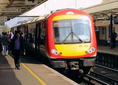 170306 (R~P~M) Tags: uk england unitedkingdom greatbritain train railway multipleunit dmu diesel 170 turbostar woking surrey stagecoach southwesttrains