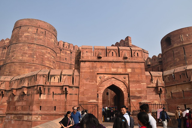 Enter the Agra Fort