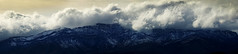 009x dusted peaks (NeilPas) Tags: mountain range clouds snow