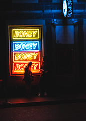 00049 (blakforest) Tags: photography landscapes outside night fujifilm fujifilmxt3 australia melbourne tree nature colourtone 10mm summer blue boat sunset river city dusk building neon girls smoking club boney