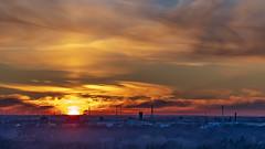 sunset (Lutz.L) Tags: natur leipzig sachsen sonne sonnenuntergang sunset himmel abend abendstimmung abendrot