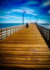 Cayucos Peir 2 (CDay DaytimeStudios w /1 Million views) Tags: beach ca california cayucos coastline highway1 ocean pacificcoast pacificcoasthighway pacificocean people pier sunset water