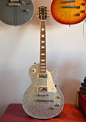 2012 Edwards E-LP-108SD Silver Sparkle (Freebird_71) Tags: guitar japan edwards lespaul sparkle
