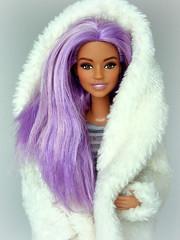 Dreamtopia Barbie on MTM body (Deejay Bafaroy) Tags: barbie dreamtopia mermaid doll puppe mattel fashiondoll portrait porträt mtmbody madetomove mtm lilac purple violett lila hair haar