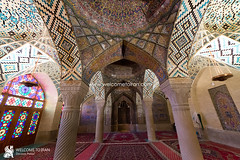 Shiraz (welcometoiran) Tags: fars iran iranian islam islamic muslim moslem religion faith beliefs creed middleeast mosque nasirolmolk neareast persia persian shia shiraz welcometoiran welcometoirantours welcome working wood window ir irantravelagency iranians makeiranmemory man bam roof royal recent rose glass