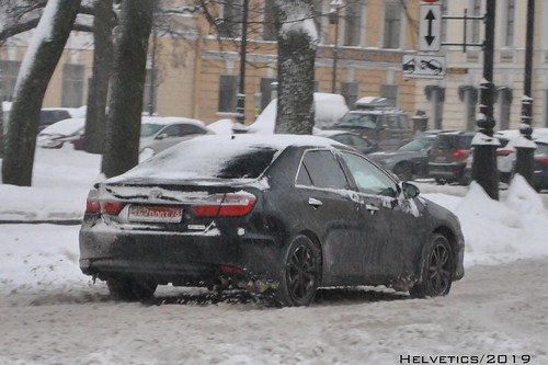 Toyota Camry - Russia, diplomatic plate