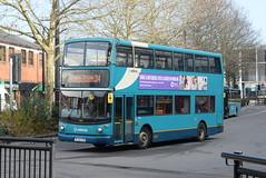 AMN 4819 @ High Wycombe bus station (ianjpoole) Tags: arriva midlands daf db250 alexander alx400 kl52cxb 4819 working route 34 high wycombe bus station coronation road cressex