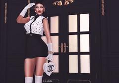 Chanel Mademoiselle ⚜️ (zoeywod) Tags: coco chanel chic doux letre maitreya gawk mandala catwa studio makeup okkbye izzies blackburns