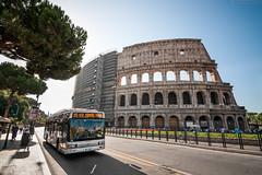 4419 [ATAC Roma] (wylaczpantedlugie) Tags: atac iveco cityclass rome rzym italy włochy koloseum colloseum italia