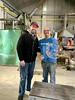 Ross & Alberto the Glass Blower