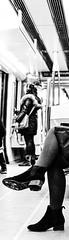 Legs (Gilles Meunier photo) Tags: montreal subway metro city ville legs jambes lady femme women