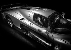 MC12 (Dave GRR) Tags: maserati mc12 toronto auto show 2019 monochrome mono sportscar racing car vehicle motorsport supercar hypercar olympus
