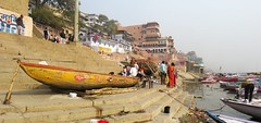 varanasi 2019 (gerben more) Tags: varanasi ghat benares india boat people ganges ganga