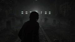 Shadow of the Tomb Raider (Matze H.) Tags: shadow tomb raider wallpaper 4k uhd hdr lara croft screenshot black white grave yard horror game playstation 4 pro dark darkness