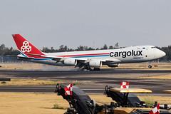 Cargolux Boeing 747-8F LX-VCH MMMX 06APR19 (FelipeGR90) Tags: aicm ciudaddemexico jumbojet mexicocity 747 7478 747800 7478f 748 boeing cdmx clx cv cargolux lxvch mex mexico mmmx freighter