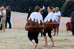 Christmas Puddings (BeerAndLoathing) Tags: 2018 december folkestone englandtrip england winter uktrip people canon kent sea beach winter2018 canoneos77d 77d events crowds trip boxingday seafront cold uk sigma18300mm