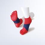 スポーツ専用靴下の写真