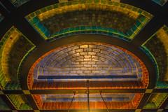 20181226-DSC01494 Amsterdam, Netherlands (R H Kamen) Tags: 19101919 amsterdam gelderland holland multicolored netherlands otterlo abstract amsterdamschool architecture artdeco artnouveau brick ceiling curves expressionism indoor indoors patterns rhkamen