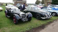 Suffolk Jaguar SS100 & 1960 Jaguar Mk2 (RoyCCCCC) Tags: bicesterheritage jaguar jaguarmk2 suffolkjaguar ss100