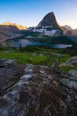 Hidden Lake Overlook (Tyson Poeckh) Tags: glacier national park bearhat mountain hidden lake nikon stream montana landscape alpine sunset logan pass