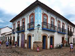 photo - Paraty, Brazil (Jassy-50) Tags: photo paraty brazil colorful colorfularchitecture door window balcony wroughtironbalcony hccity intaglio