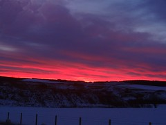 Red Sky 2 (Saf37y) Tags: red sky clouds moray keith morning