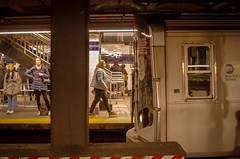 Framing (Capitancapitan) Tags: subway tren nyc new york manhattan bronx neury luciano colors camera pentax people