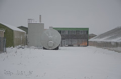 Nursery 4 (AstridWestvang) Tags: building industry nursery snow stokke storehouse tank vestfold