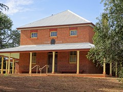 Grenfell. Old gold mining town. The Courthouse. Built in 1879. (denisbin) Tags: gundagai grenfell marble masterpiece rusconi clock cenotaph warmemorial rectory anglicanrectory gundagairectory church anglican courthouse house grenfellhall