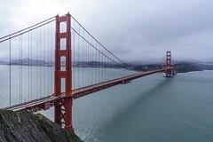 "Overcast Morning at the Golden Gate Bridge (mjhedge) Tags: 1635mm ""fe1635mmf28gm"" a7riii sony california water bridge ""goldengatebridge"" ""batteryspencer"" ""sanfrancisco"""