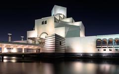 Museum of Islamic Art, Doha (Torsten Reimer) Tags: nacht night architektur building asia wasser gebäude langzeitbelichtung light longexposure arabia museum katar sky architecture himmel art qatar water doha qa