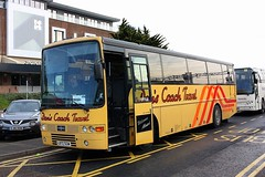Dan's Coach Travel at Colchester (Chris Baines) Tags: coach travel volvo b10m vanhool lb72 sgw colchester rail replacement ipswich dans