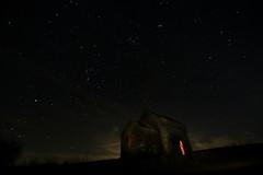 Herencsény februárban (HorvathZsolt73) Tags: temple templom herencsény nógrád night nightlight orion nebula lightning lights éjszaka astronomy asztronómia harasztipusztaitemplom februar