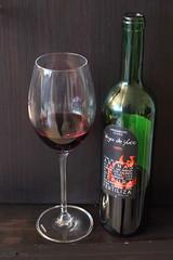 """""""Vega de Yuco Tinto"""" (Rotwein von Lanzarote) (multipel_bleiben) Tags: essen zugastbeifreunden wein rotwein flasche spanisch"""