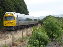 Rounds the Curve (geoffreyw@kinect.co.nz) Tags: dunedin silver fern railcar rm24 black jacks point