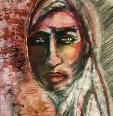 Rubí (franck.sastre) Tags: art mirada espejo colors pintura painting live
