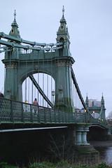 Hammersmith Bridge (E Y Mao) Tags: architecture london street photography leica m9 summilux summilux50mm hammersmith bridge colour color