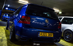 IMG_4374 (RevCheck Photography) Tags: car vehicle transport vw volkswagen r32 golf underground park light lighting shadow colour highlights reflection shine