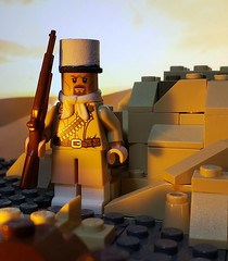 Legionnaire, 13th Demi-Brigade of the Foreign Legion (brickhistorian) Tags: war world wars ww2 wwii two france french fig forces free africa north liberation lego legos minifig minifigure moc brick bricks build building battle desert