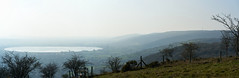 Evaporation (Michael J Lawlor) Tags: cheddarreservoir cheddar somerset water panorama mist somersetlevels