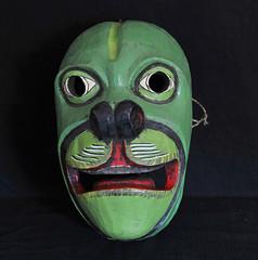 Ecuador Kichwa Mask Mascara Tigua Mono Monkey (Teyacapan) Tags: ecuador mascara mask andean southamerican quichua kichwa crafts artesanias mono