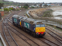 57301 & 57003 Penzance [Explored] (Marky7890) Tags: drs 57301 57003 class57 0z31 penzance railway cornwall cornishmainline train