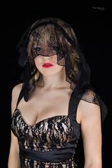 Veil (piotr_szymanek) Tags: ania aniaz woman young skinny portrait studio face eyesoncamera veil blonde longhair 1k 20f 5k 50f 10k